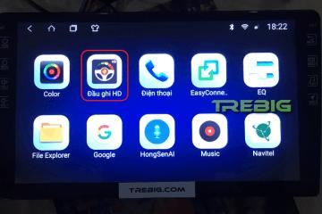 Phần mềm trebig camera hành trình U2 phiên bản 01-JR 1