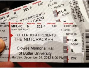 nutcracker tickets