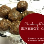 Cranberry Date Energy Balls
