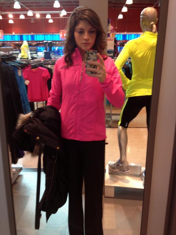 jacket shopping