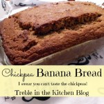 Chickpea Banana Bread…I Swear You Can't Taste The Chickpeas!