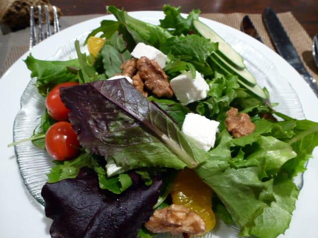 dinner salad tasting