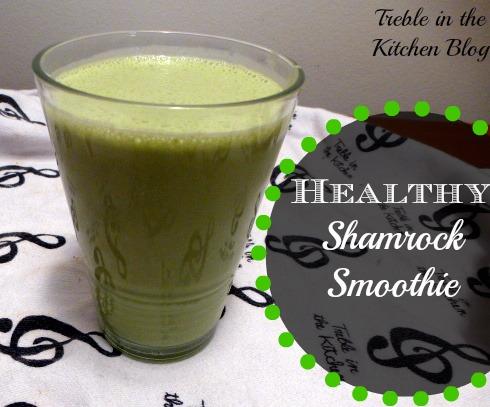 healthy shamrock shake text
