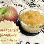 Unsweetened Applesauce Made Easy