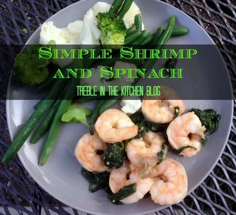 shrimp and spinach text