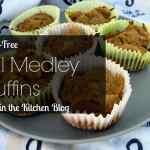 Fall Medley Muffins {Gluten-Free}