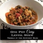One-Pot Curry Lentils and Vegetables