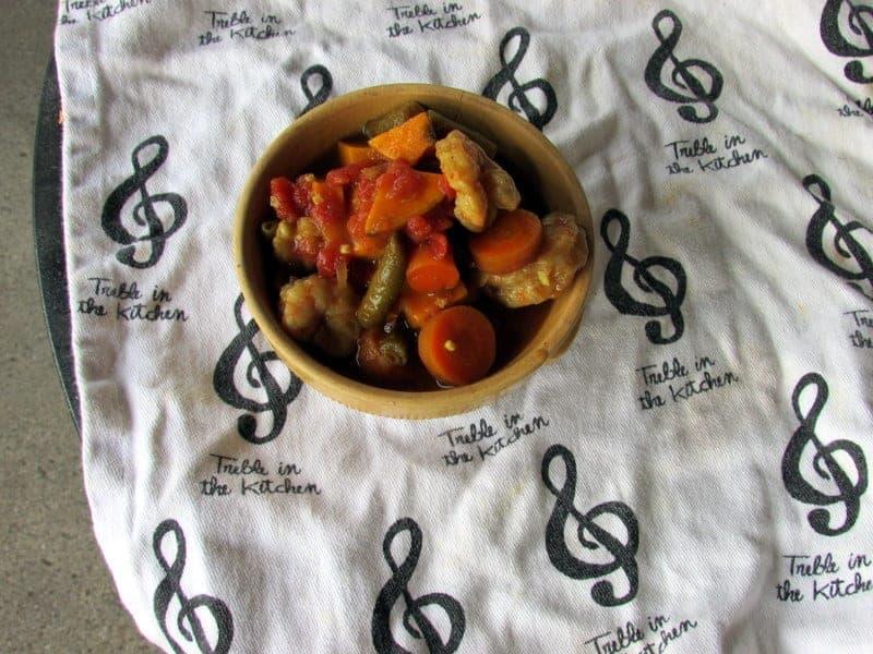 vegetable curry crock pot