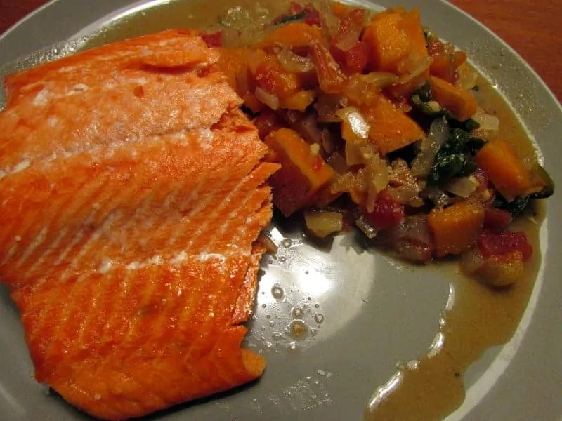 salmon and crockpot garam masala
