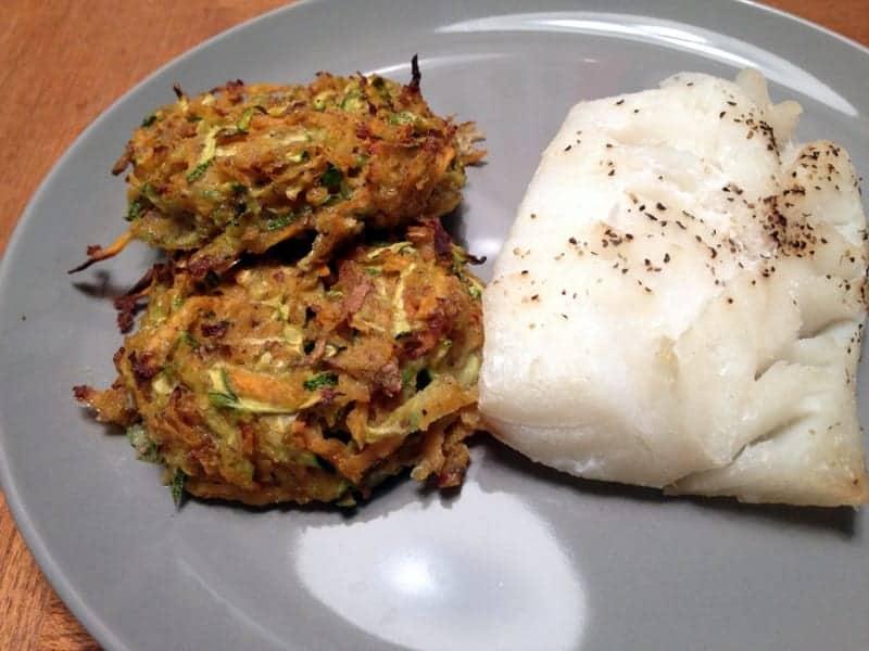 zucchini sweet potato fritters