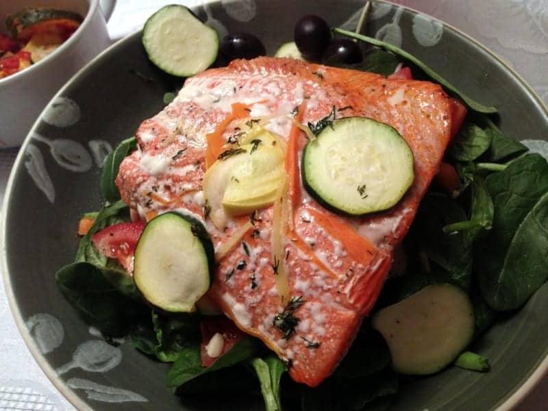 vday salmon dinner