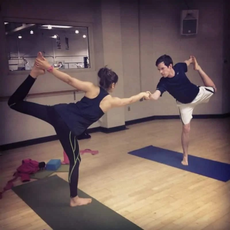 tara and brian yoga