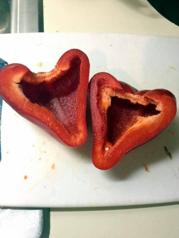 heart bell pepper