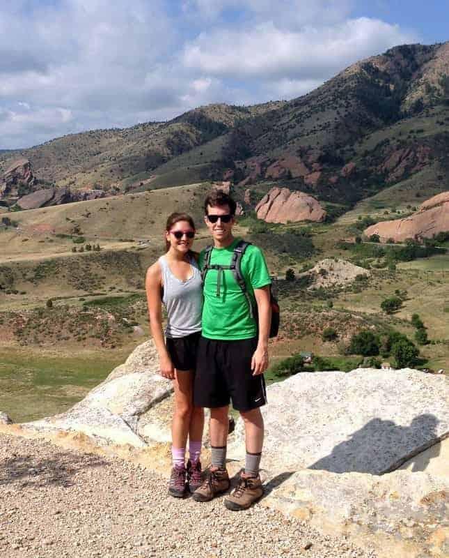 red rocks hike