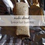 Weekly Meal Plan and the BEST Breakfast Burritos