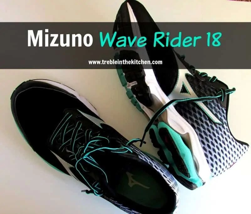 Mizuno Wave Rider 18 Review Treble in the Kitchen