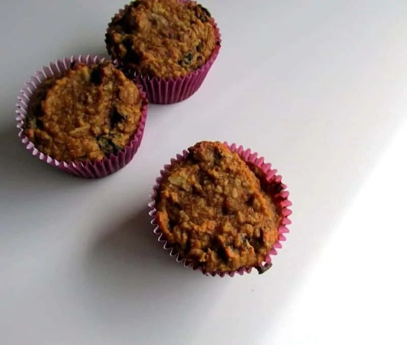 Pumpkin Raisin Nut Muffins 2 via Treble in the Kitchen