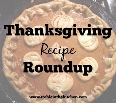 Thanksgiving Recipe Roundup via Treble in the Kitchen