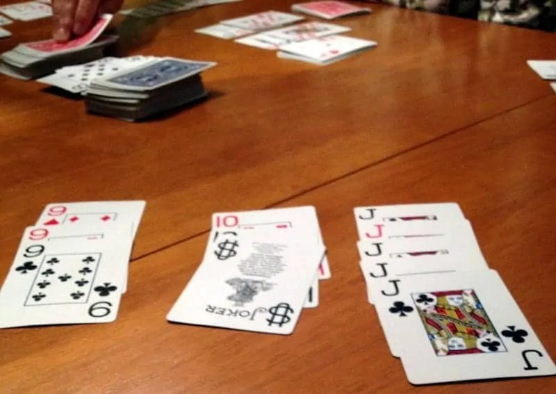 cards with family