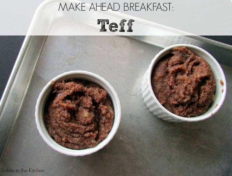 How to Make Teff via Treble in the Kitchen
