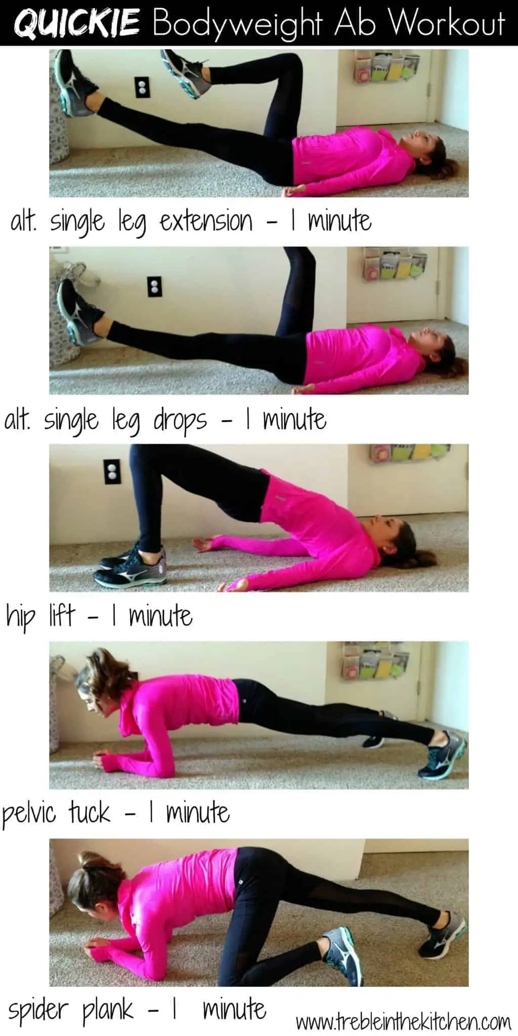 Quickie Bodyweight Ab Workout_Treble in the Kitchen