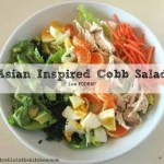 Asian Inspired Cobb Salad {low FODMAP}