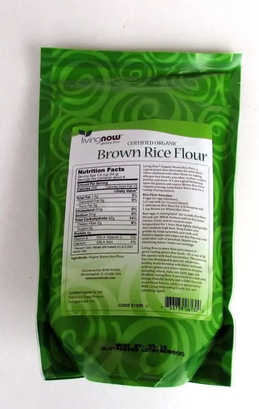 Tips for Baking with Rice Flour via Treble in the KItchen