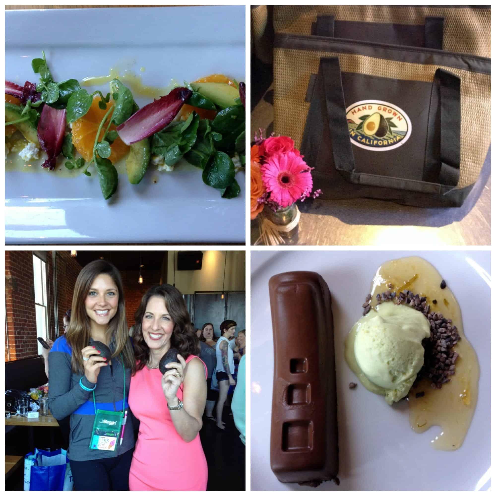 FitBloggin' California Avocado Lunch via Treble in the Kitchen