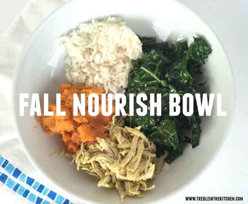 Fall Nourish Bowl via Treble in the Kitchen