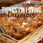 Things I've Been Loving: December 2015