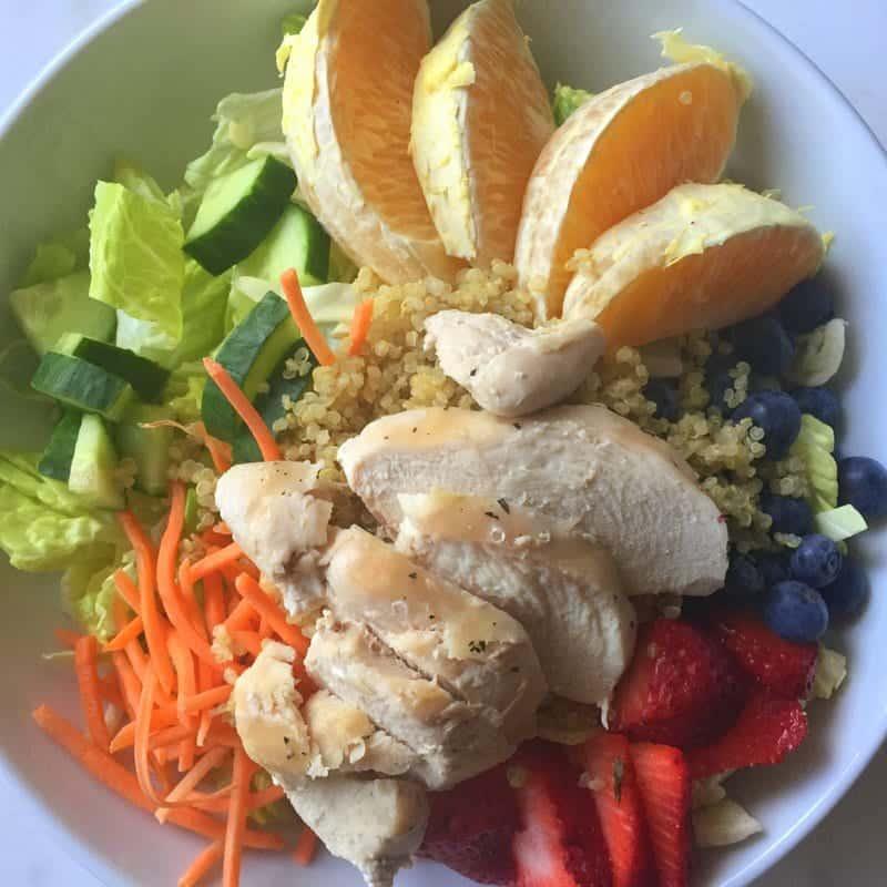 Springy salad