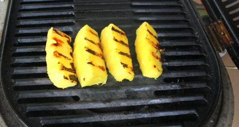 Grilled Pineapple with Coconut Cinnamon Whipped Cream