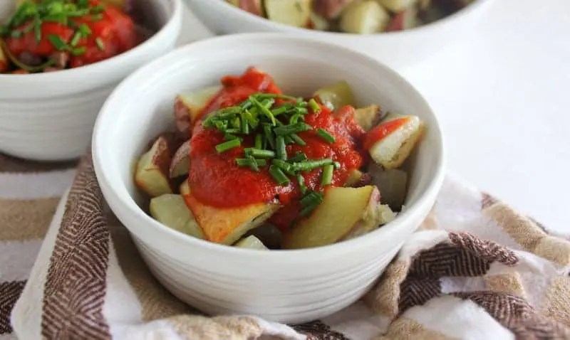 Patatas Bravas low FODMAP | Treble in the Kitchen