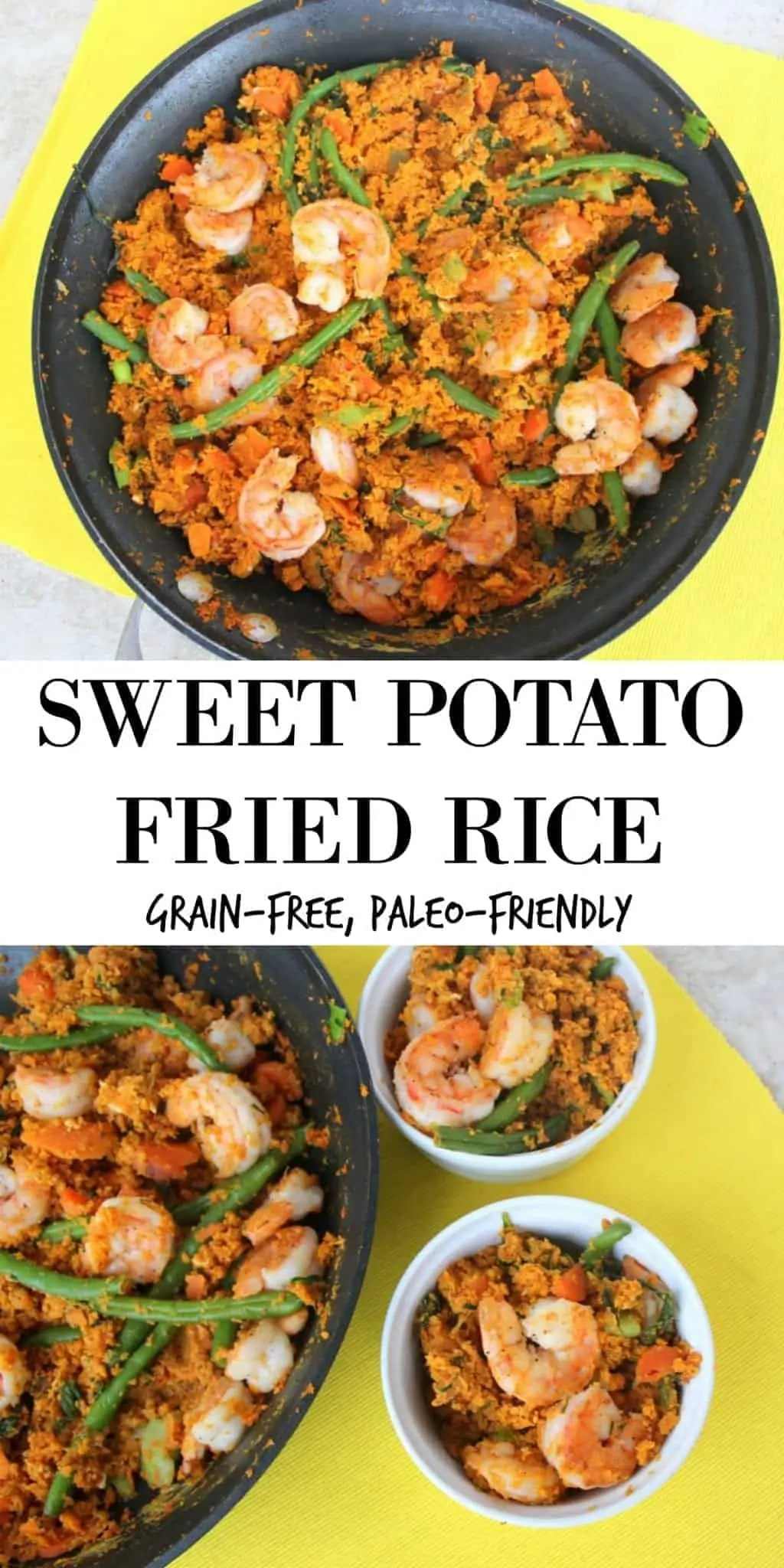 Sweet Potato Fried Rice From Treble in the Kitchen