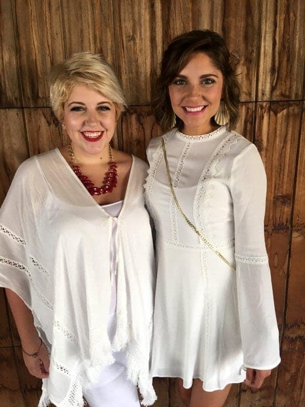 Tara and Brenna Zandi K White Party Denver