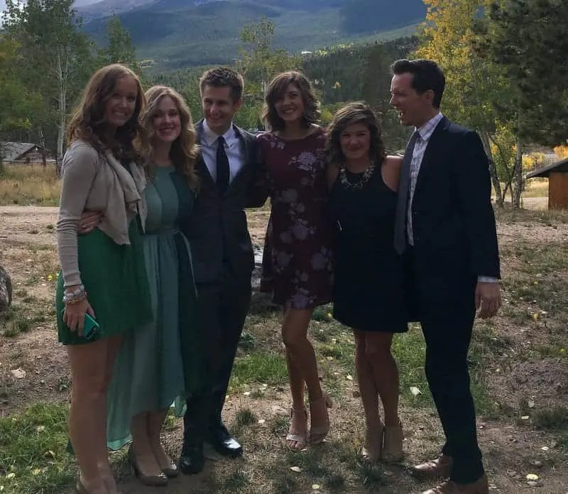 Wedding in Estes Park Colorado