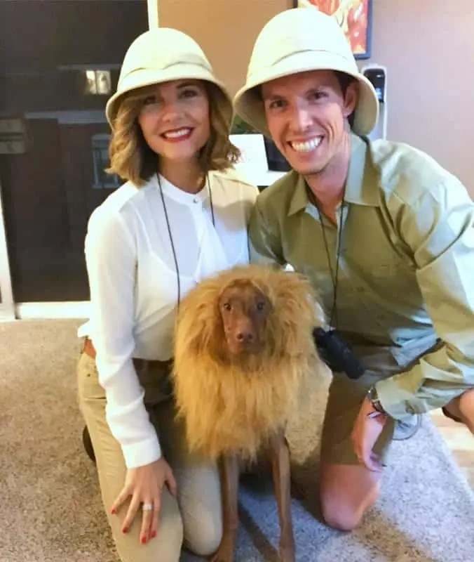 Halloween 2016 Safari with Dog as Lion