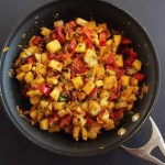 Plantain Root Vegetable Hash