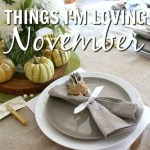 Things I'm Loving: November 2016