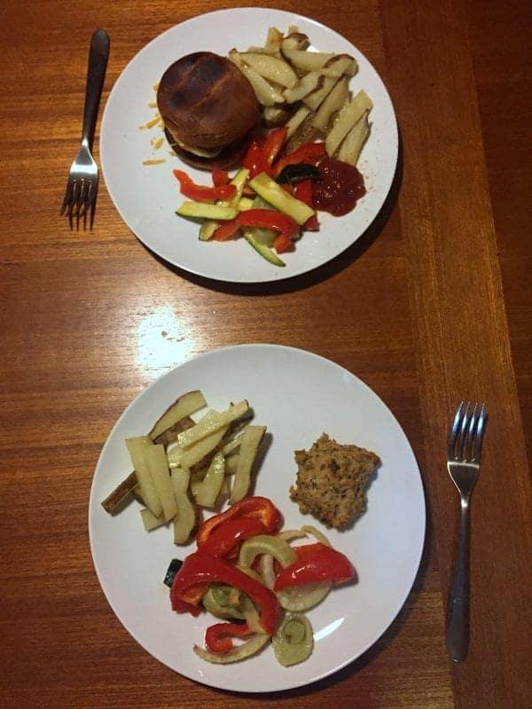 italian chicken burgers