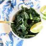 Cumin Lime Kale Salad