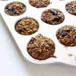 Oatmeal Blueberry Carrot Zucchini Muffins