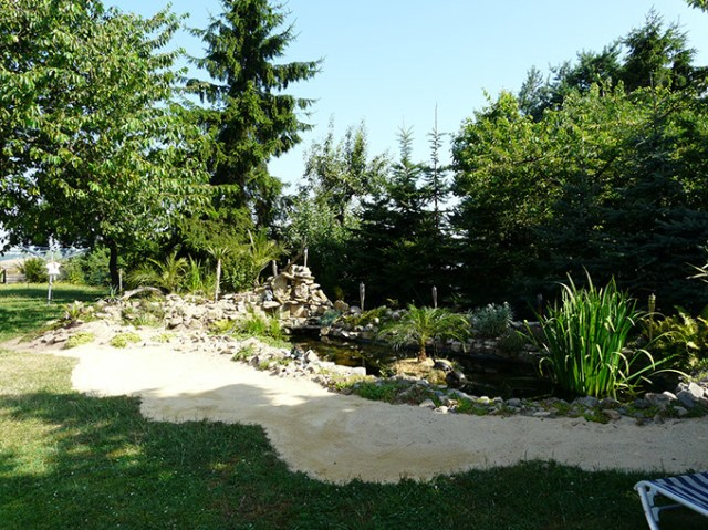 Pension Trebnitzer Hof: Garten