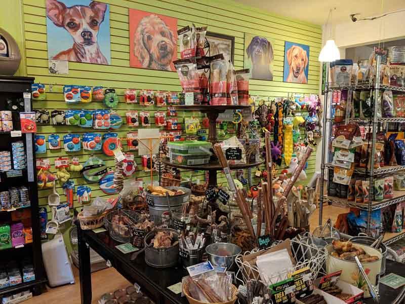 Toys and treats at Tre Bone