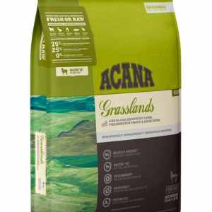 Acana Grasslands for Cat front of bag