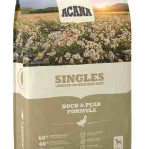 Acana Singles Duck Pear front of bag