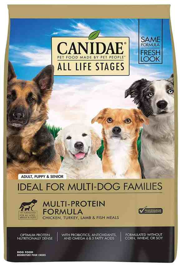 Canidae All Life Stages front of bag