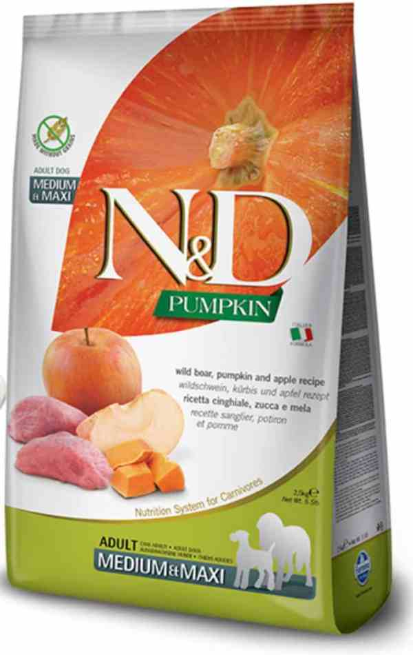 Farmina N&D Boar Apple Pumpkin Medium Maxi 26.5 pounds