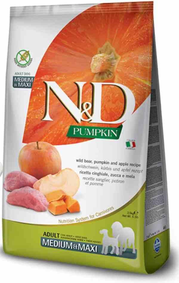 Farmina N&D Boar Apple Pumpkin Medium Maxi 26.5 pounds