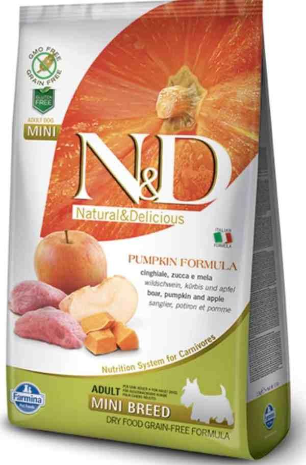 Farmina N&D Boar Pumpkin Apple Mini